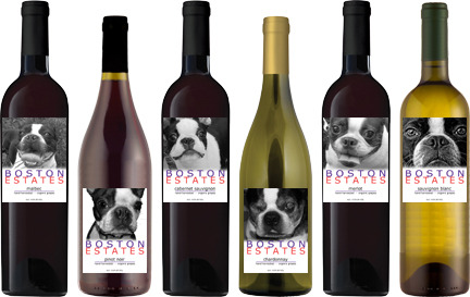 hotpotofcoffee:  North East Boston Terrier Rescue - Benefit Wines