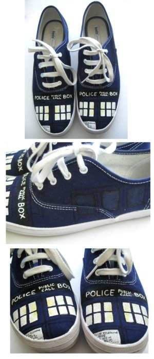 thesherlockedboffin:  otterpenguins:  time-traveling shoes  Sweet. Mother. Of. God.