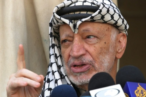 aljazeera:  Tests hint at possible Arafat poisoning |   Nine-month investigation by Al Jazeera discovers rare, radioactive polonium on ex-Palestinian leader's final belongings.