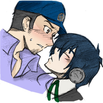 "Junpei nodded slowly. He was glad that Minato forgave him. He looked up when he sensed Minato leaning closer to him, then his eyes widened when the boy pressed their lips together. Junpei gasped shallowly into the kiss before pulling away, staring at Minato with a dark blush coloring his cheek. ""Wh-what was that?"" he asked, sounding alarmed. He swallowed as he thought about the implications of what had just happened…. Junpei was speechless, but the strangle tingle on his lips wouldn't go away. He touched his own lips softly, wondering. He wanted to try it again but the stupid nurse came back. Junpei grudgingly sat at Minato's bedside once more, his hands balled into fists on his knees. He was itching to kiss Minato again and hoped the nurse would hurry up and leave. He supposed he should also let Minato eat first too, because he wasn't sure if he was going to be able to stop kissing him once he started."
