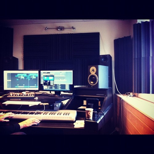 Creating dope shiieet with @bigcitymusik #BadAsIWannaBe  (Taken with Instagram)