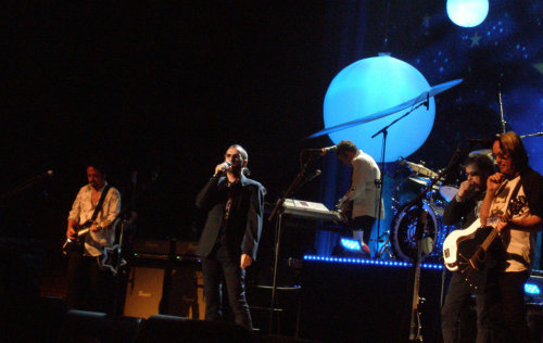 Ringo Starr and his All-Starr Band performing in Clearwater, FL, 01 July 2012. (Photo credit: Laura Pinto)