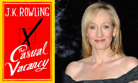 JK Rowling's The Casual Vacancy: cover design revealed Man, I hope it doesn't suck.