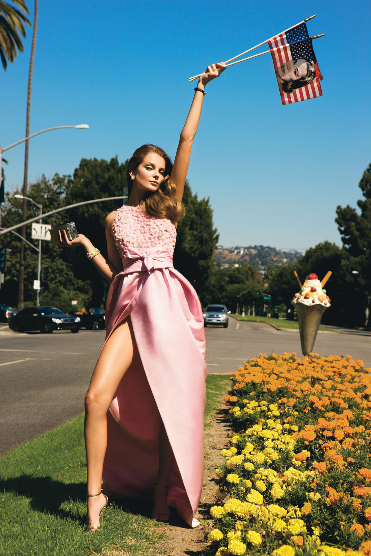 Photo by Inez van Lamsweerde and Vinoodh Matadin Yay America! Happy July 4th!