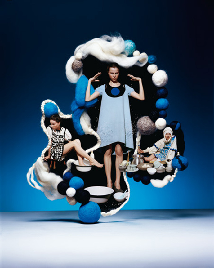 Tsumori Chisato, AW 2007-2008, created by Surface to Air