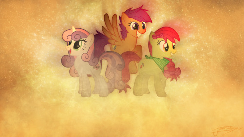 theponyartcollection:  The Crusaders by *Jamey4