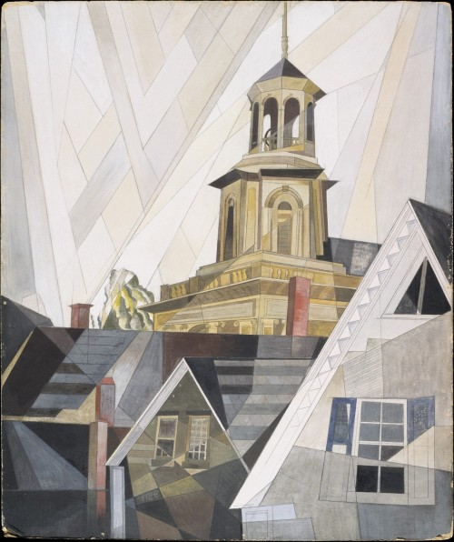 peira:  Charles Demuth:  After Sir Christopher Wren (1920) via The Metropolitan Museum of Art