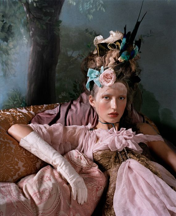 "Lush Magazine  fall issue  ""Marie Antoinette""  photography by Bernard Tartinville"