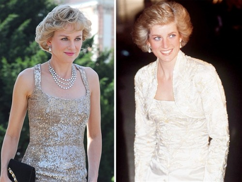 wow… today:  Naomi Watts as Princess Diana