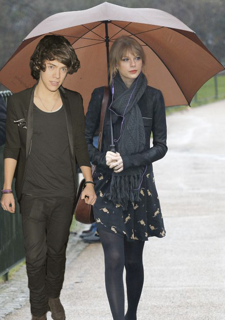 Requested by: Anonymous.  Taylor Swift and Harry Styles.