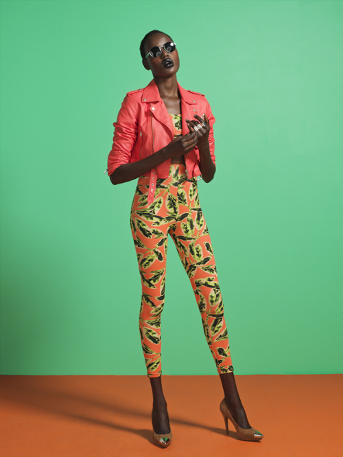 Ajak Deng for Nasty Gal.com
