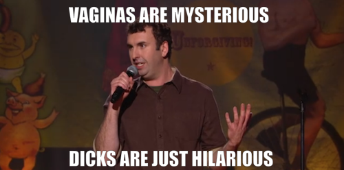 Click the image to watch a clip from Matt Braunger: Shovel Fighter, premiering Saturday, July 14 at 11/10c.