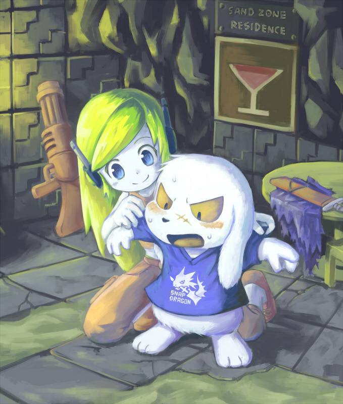 Morning Tumblr here is some Cave Story beautiful art