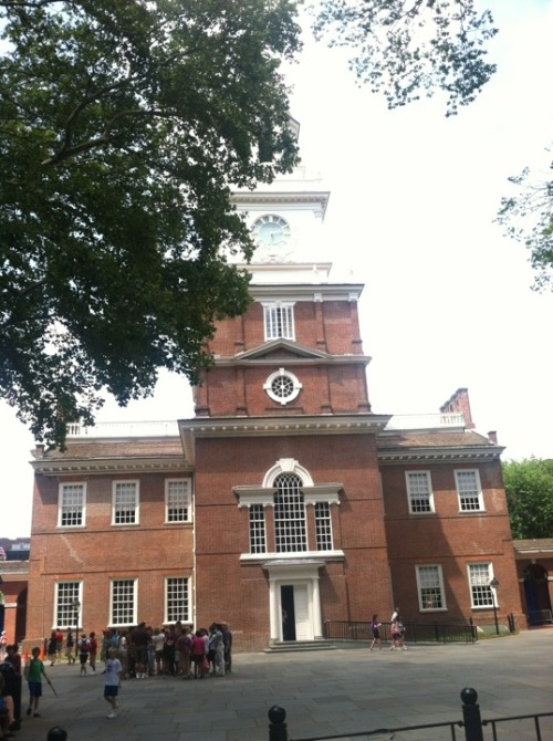 #OWS #NatGat @InfoOccupy Walking Tour Independence Hall http://4sq.com/4ADYjC