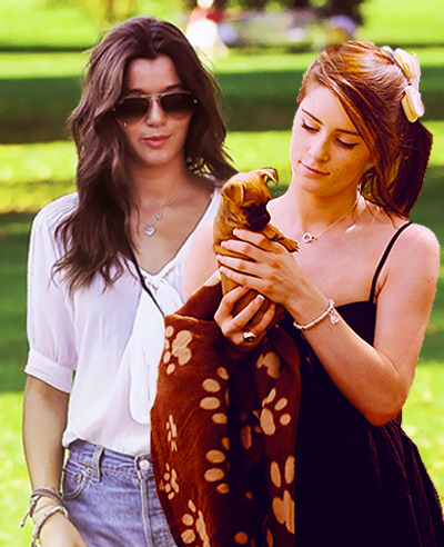 Requested by: Anonymous.  Eleanor Calder and Lucie Jones
