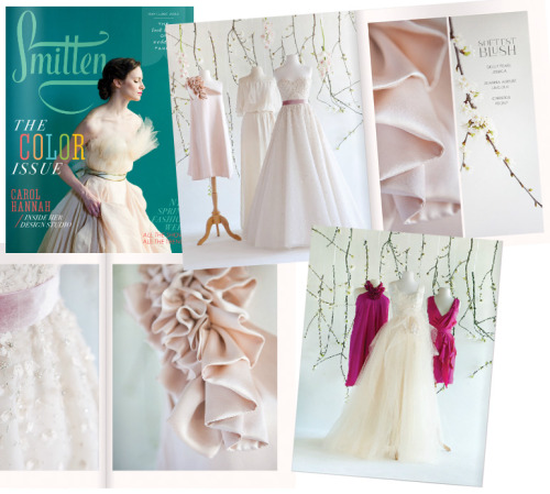 If you're planning your dream wedding, and are looking for creative and gorgeous dresses, accessories, details, and ideas, please check out my favorite e-glossy, Smitten Mag! LIKE Smitten on Facebook here!