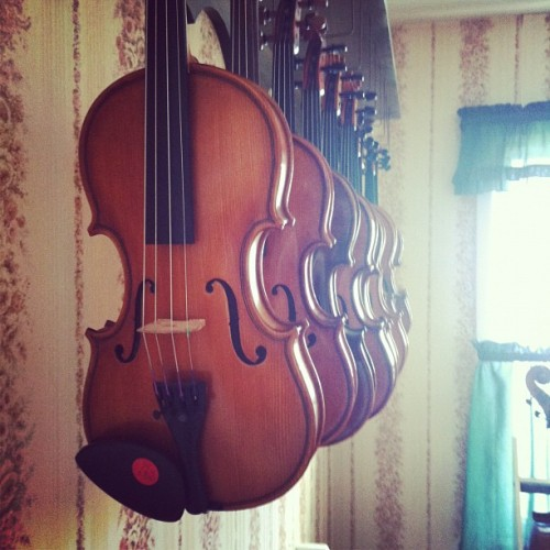 At The Violin Shop (Taken with Instagram)