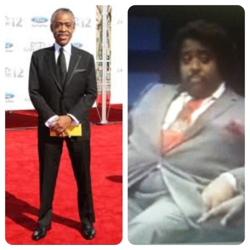 Throwback of Al Sharpton when he was, well…larger