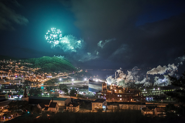 Corner Brook Canada Day Photograph by Candace Cunning