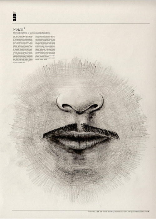 """This poster was created to be the part of the booklet caled """"BRK"""" that celebrates mustaches and everything that goes with it. http://issuu.com/lukasrdanovic/docs/brk"""