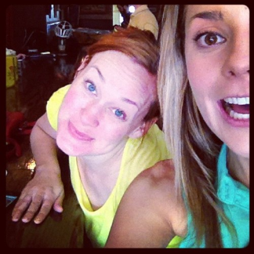 gracehelbig:  Reunited and it feels so goooood. (cc: @mametown) (Taken with Instagram)