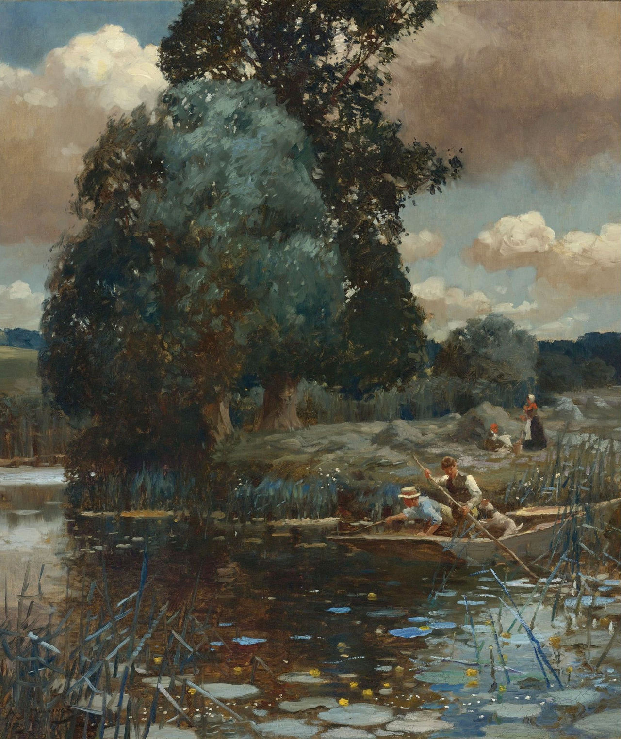 fleurdulys:  A Summer Afternoon - Alfred James Munnings