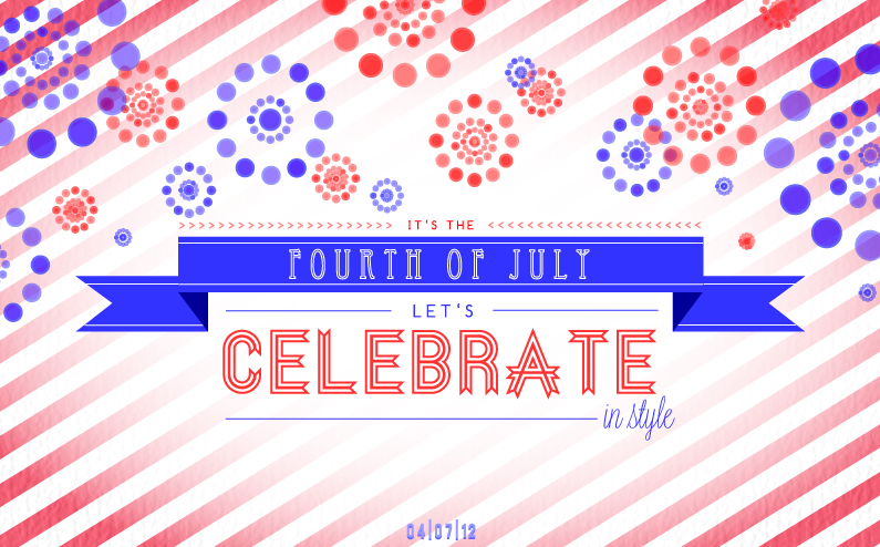 Happy Fourth of July from Third Wave Fashion! We hope everyone has a fun, fabulous, and safe holiday. See you again on Thursday! XOTWF
