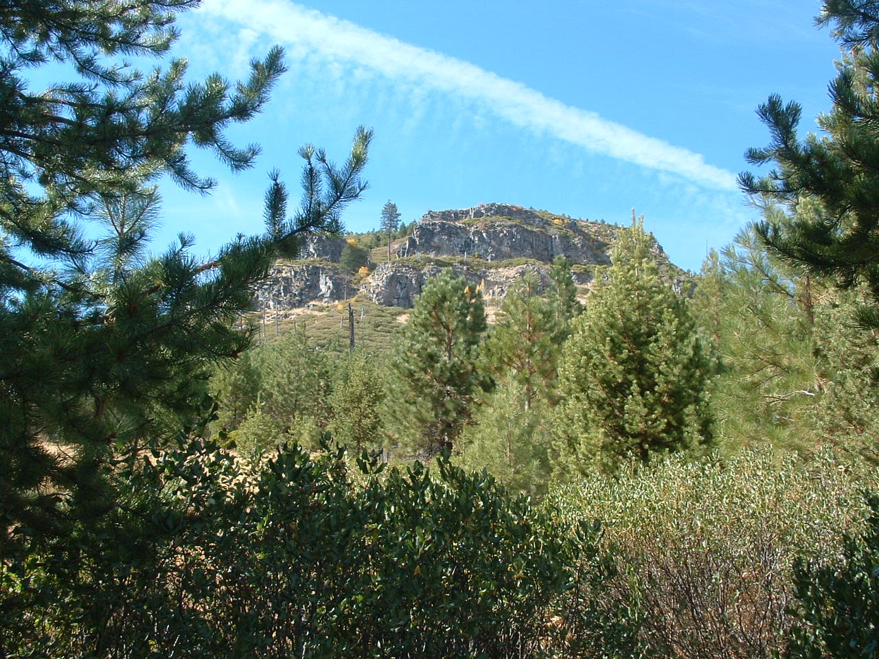 Tumalo Butte in late summer