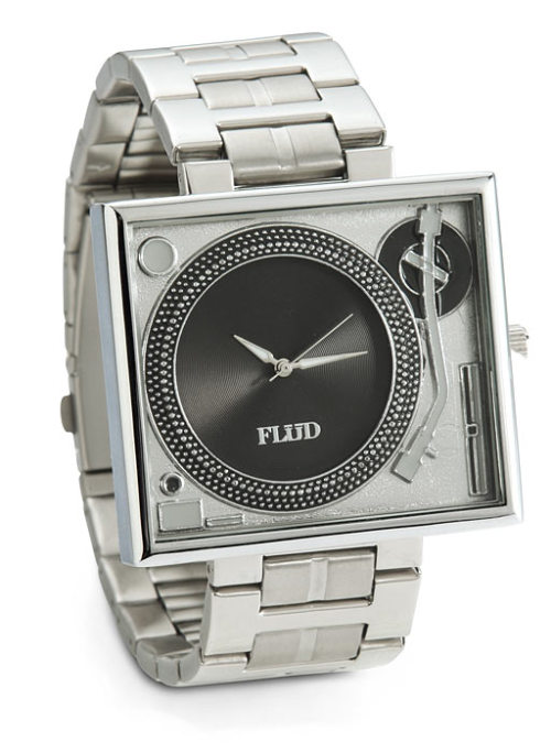 Turntable wristwatch.