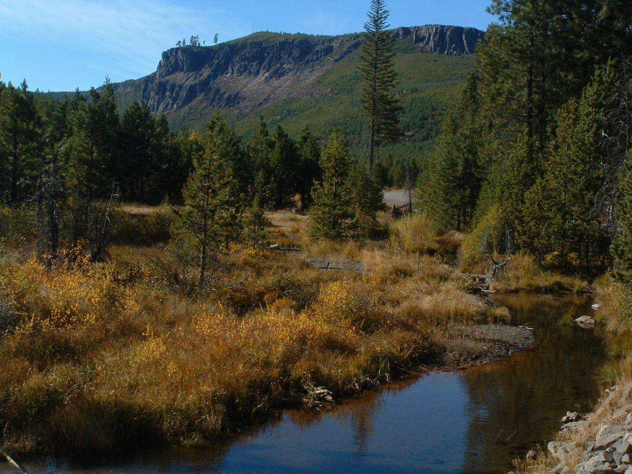 Tumalo creek in late summer