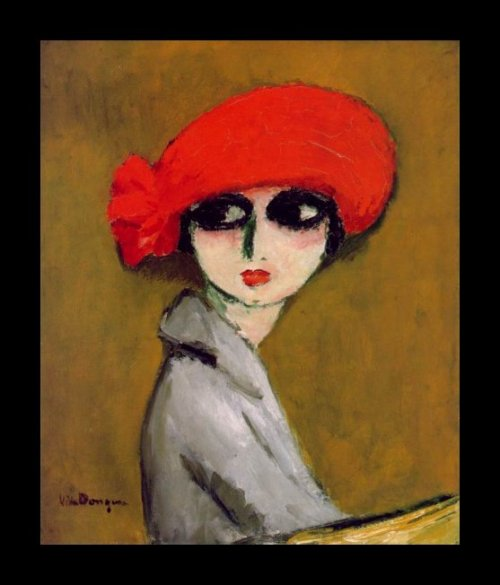 The Corn Poppy, 1919; by Kees van Dongen