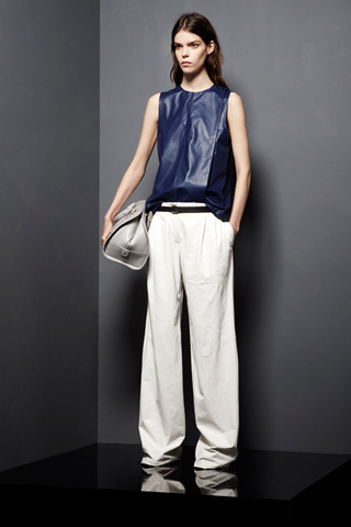 Photos: Style Proenza Schouler Resort 2013 My top 10 looks. I love the leather looks, and the jeans, they've got the perfect wash and just the perfect fit that I'm looking for.