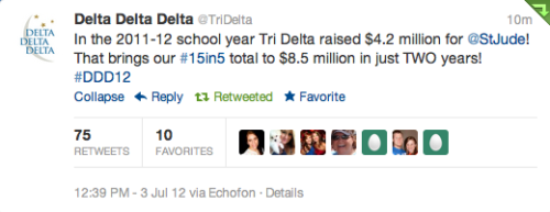madelineeez:  So proud to be a Tri Delta!!