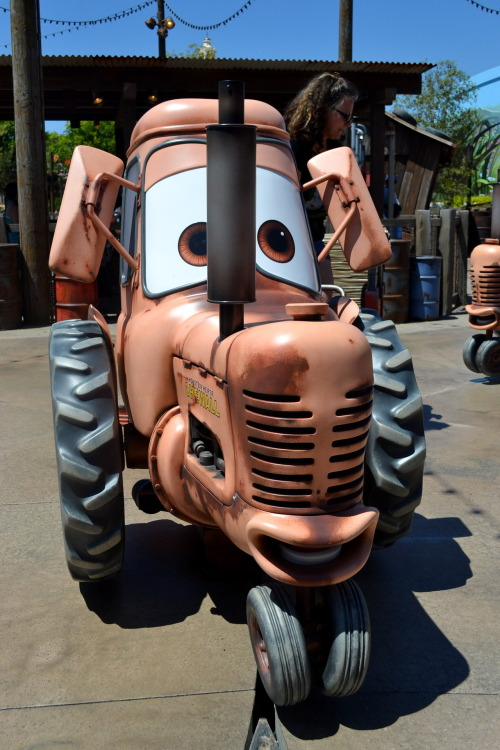 Mater's Junkyard Jamboree Cars Land, California Adventure