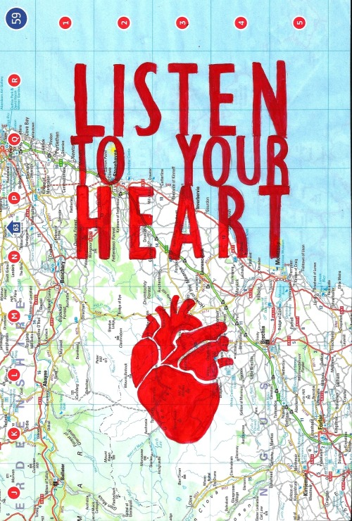 Listen To Your Heart via @JuliaMurphree  juliamurphree:   …there's nothing else you can do.