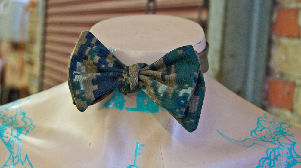 Digi Camo Bow Tie..NOW AVAILABLE..