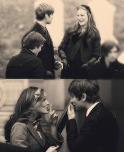 Charming couple of Season 1 and 2. :) #GossipGirl