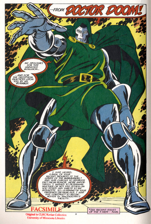 Doctor Doom in Fantasic Four vs. Xmen, Issue 2