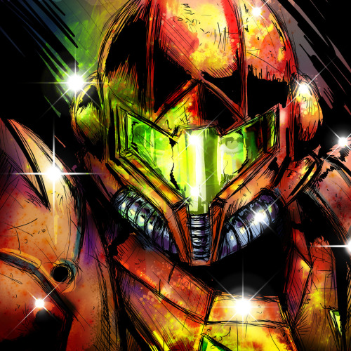 superpuppet:  Samus sketch