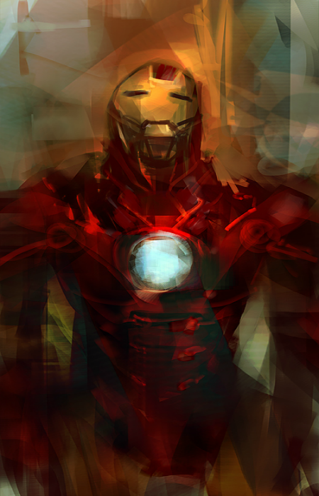 youngjusticer:  To infinity, and beyond! Iron Man, by Aditya Ikranegara.