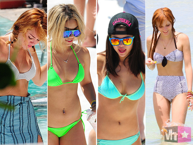 VH1 Celebrity Bikini Awards: Which Disney Stars Are Making Mickey Blush?