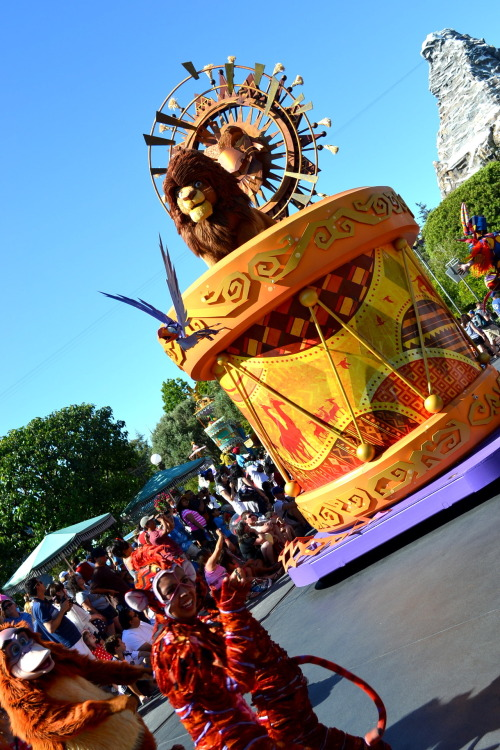 Lion King Float from Soundsational! Disneyland, California
