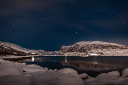 TromsØ night without northern lights by CoolbieRe on Flickr.