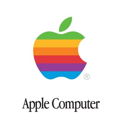 wellhungheart:  Haha Robin thought this oldddd skool Apple logo was a new Apple Logo for Pride… Not so much, Robin.   hahahahah!