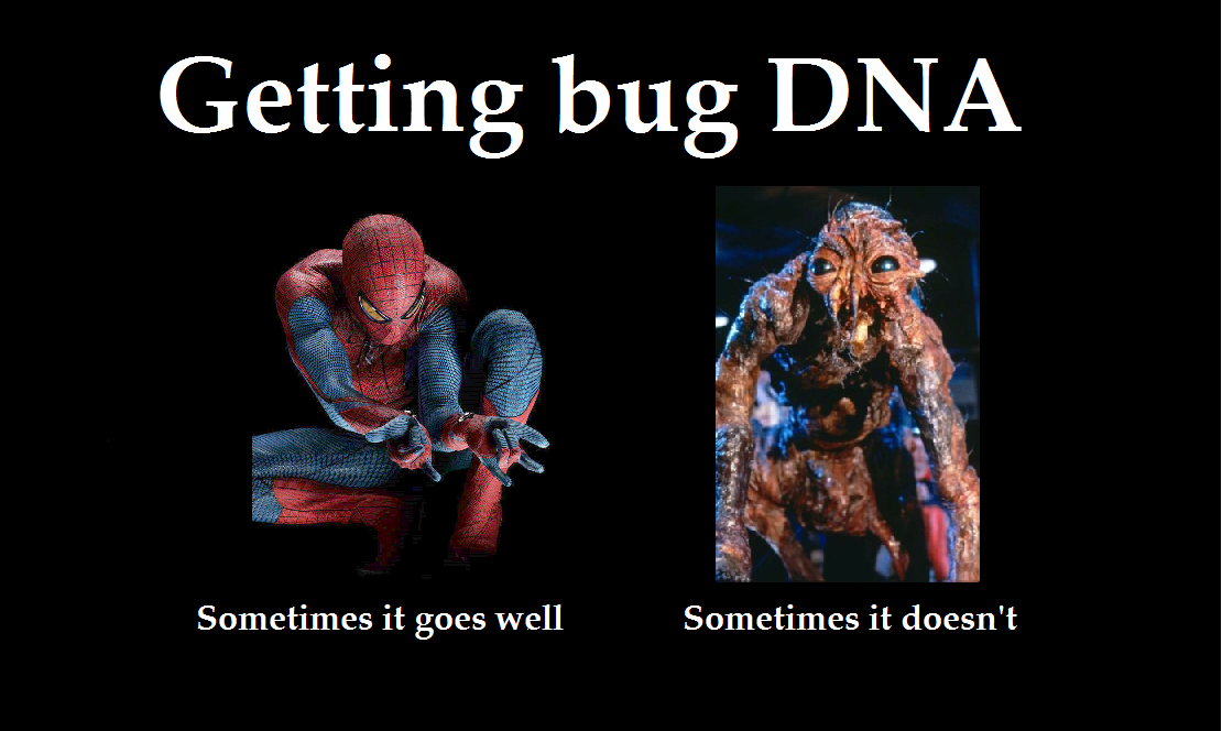 scififangrrrl:  Bug DNA