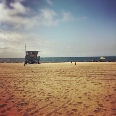 Beach bum  #socal #beach #ocean (Taken with Instagram at Dockweiler State Beach)