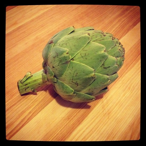 Artichoke…what should I do with it? —Judith Pena, Assistant to the Editor-in-Chief