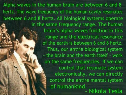 alpha waves…