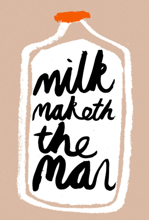 Rob Hodgson, Milk Maketh the Man, 2012