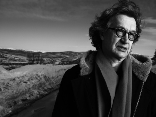 Wim Wenders photographed by Mark Abrahams